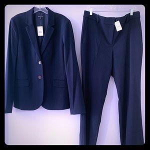 J. Crew suit: Navy Blue